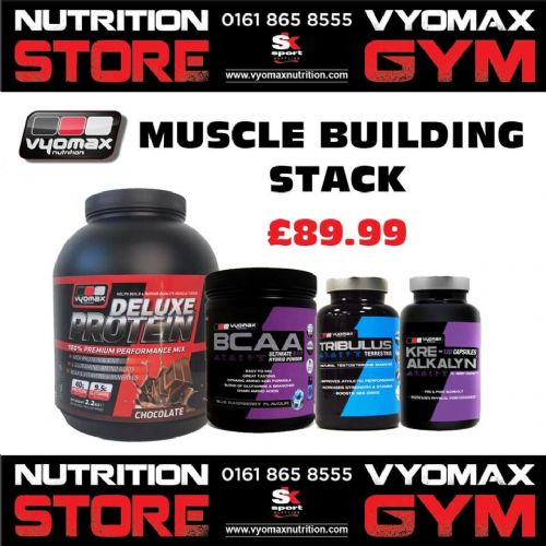 VYOMAX® MUSCLE BUILDING STACK
